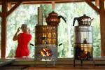 Turkse thee op houtvuur