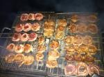 vlees op de BBQ